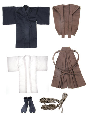 1/6 Scale Samurai Suit Set