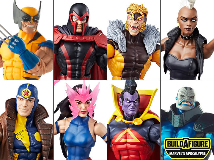 X-Men Marvel Legends Wave 3 Set of 7 (Apocalypse BAF)
