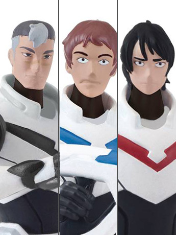 Voltron The Legendary Defender Pilots Wave 1 Set of 3