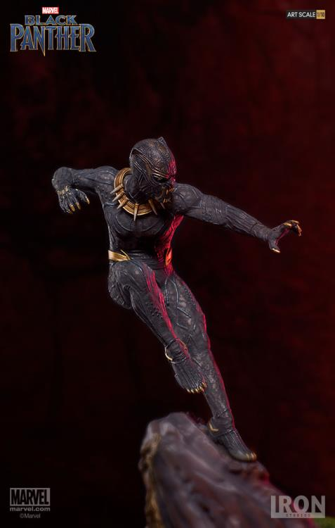 Black Panther Battle Diorama Series Killmonger 1/10 Art Scale Statue