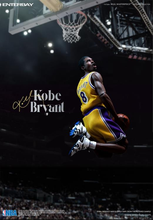 NBA Real Masterpiece Kobe Bryant 1/6 Scale Figures Two Pack