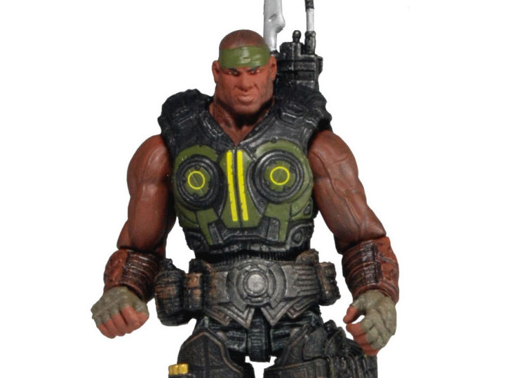 "Gears of War 3.75"" Augustus Cole Figure"
