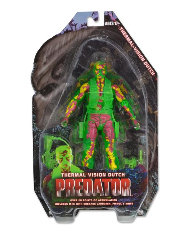 Predator 25th Anniversary Dutch (Thermal Ver.) Figure