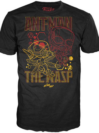 Pop! Tees: Marvel - Ant-Man Wasp Team
