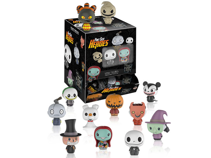 BigBadToyStore - Nightmare Before Christmas Pint Size Heroes Box of 24
