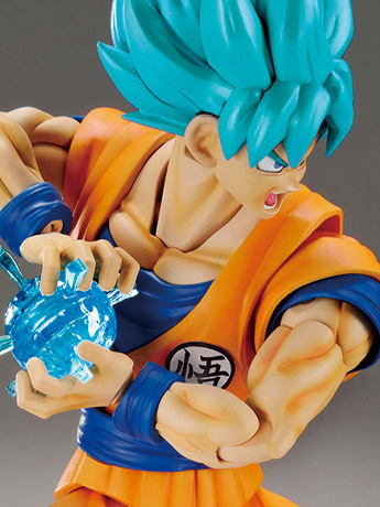 Dragon Ball Super Figure-Rise Standard SSGSS Goku (Special Color Ver.)