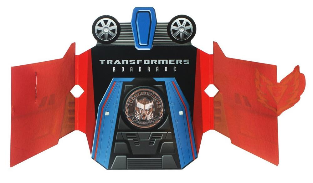 Transformers Masterpiece MP-26 Road Rage Collector Coin
