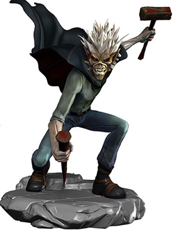 Iron Maiden: Legacy of the Beast Vampire Hunter Eddie Vinyl Figure
