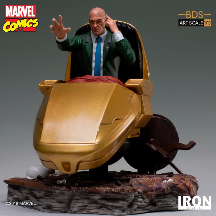 Marvel Comics Battle Diorama Series Professor X 1/10 Art Scale Limited Edition Statue