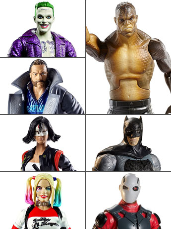 77% Off!  Suicide Squad Set of 6 - $30.00