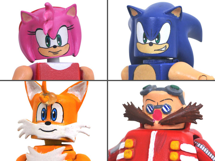 Картинки по запросу Minimates Figures - Sonic the Hedgehog - Sonic Series 1 Box Set