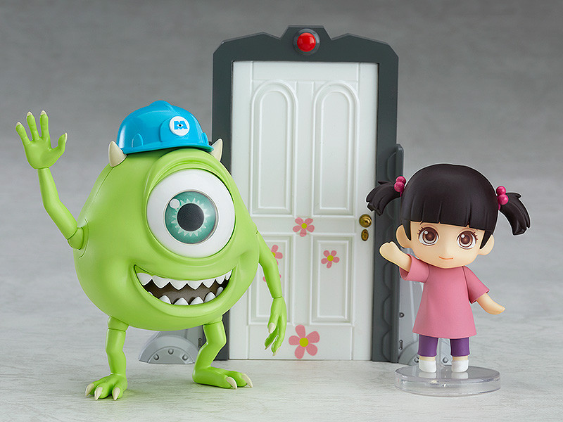 & Monsters Inc. Nendoroid No.921-DX Mike \u0026 Boo (DX Ver.)