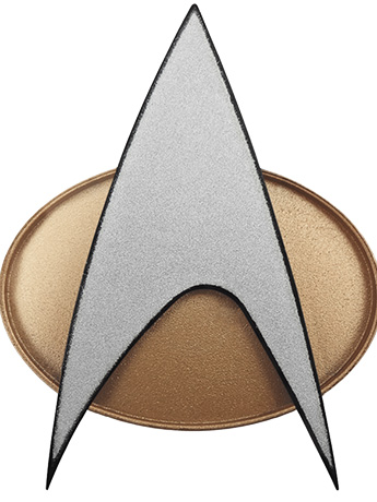 Star Trek: The Next Generation Bluetooth Communicator Badge (30th Anniversary Edition)