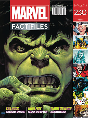 Marvel Fact Files #230