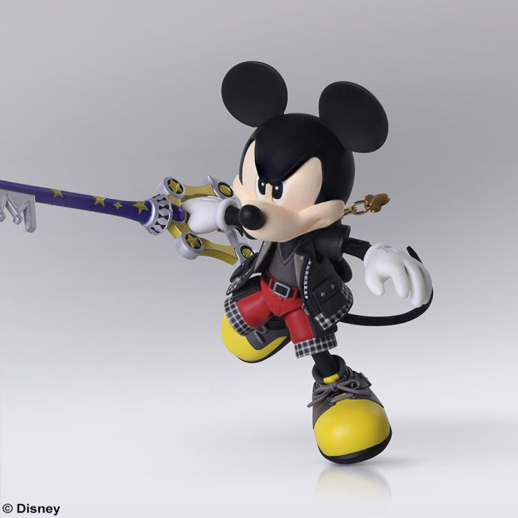 Kingdom Hearts III Bring Arts King Mickey