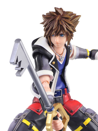 Kingdom Hearts III Bring Arts Sora (2nd Form) PX Previews Exclusive