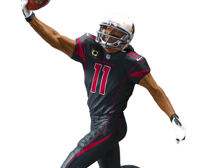 larry fitzgerald color rush jersey