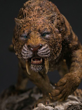 Similodon Fatalis (Dry Gobi Desert Version) MUS003B Collectible Museum Series Statue