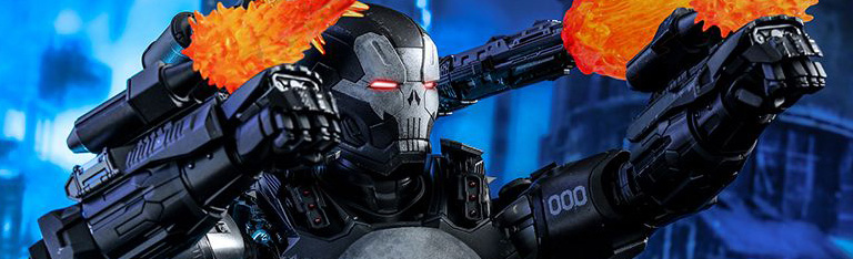Marvel: Future Fight VGM33D28 The Punisher (War Machine Armor) 1/6th Scale Collectible Figure