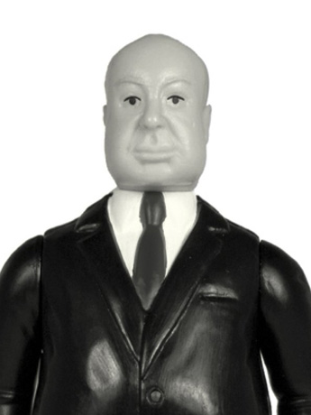 Alfred Hitchcock (Grayscale) ReAction Figure