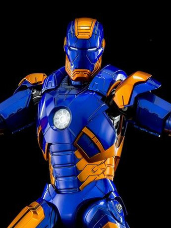 Iron Man 3 DFS051 Iron Man Mark XXVII Disco 1/9 Scale Figure