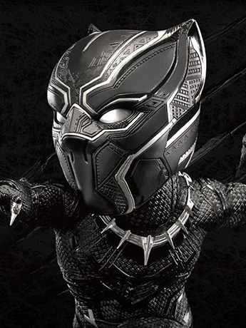 Captain America: Civil War Egg Attack EA-028 Black Panther PX Previews Exclusive