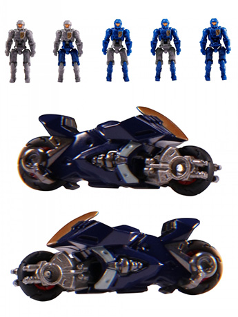 Diaclone Reboot - DA-15 Big Powered Trooper Set