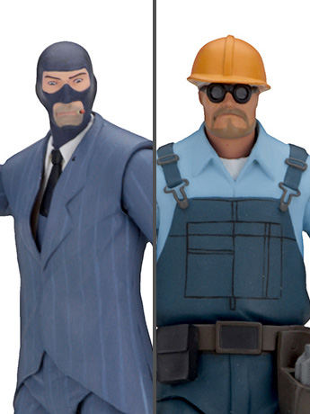 Team Fortress 2 Series 3.5 BLU Set of 2
