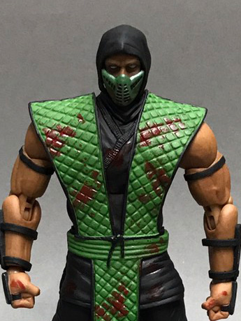 Mortal Kombat VS Series Reptile (Special Edition) 1/12 Scale Figure