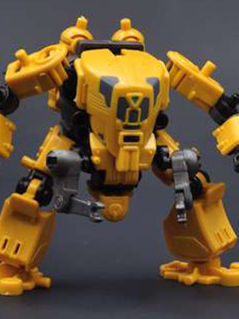 Multiabyss V-Link Mecha Defender + Construction (Yellow) 1/60 Scale Model Kit