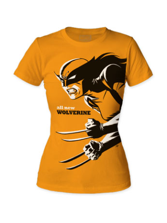 Marvel All-New Wolverine T-Shirt (Womens) (Michael Cho)