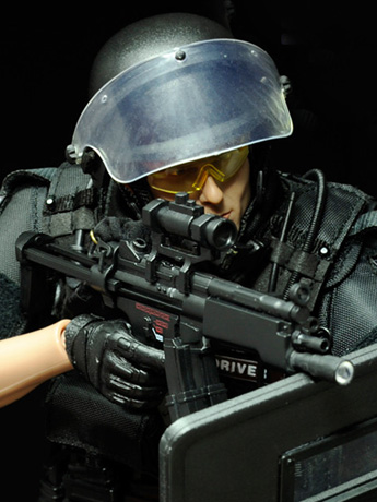 SWAT Team Point-Man 1/6 Scale Figure