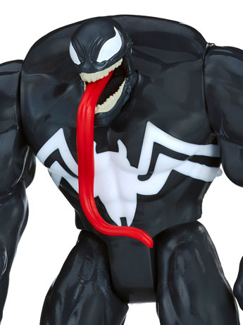 "Marvel Spider-Man 6"" Quick Shot Venom"