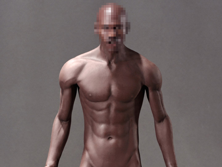 Super-Flexible 1/6 Scale Seamless Male Body (M36)