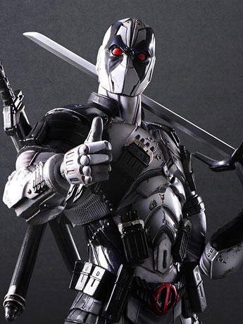 Marvel Universe Variant Play Arts Kai Deadpool (X-Force)