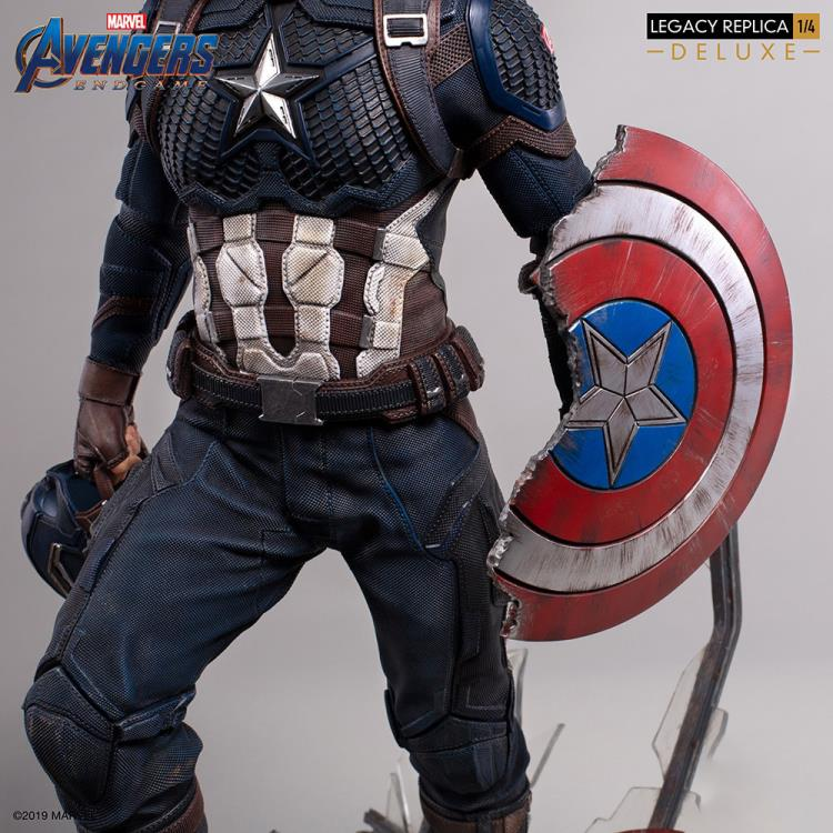 Avengers: Endgame Legacy Replica Captain America Deluxe 1/4 Scale Limited Edition Statue