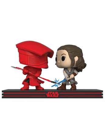 Pop! Star Wars: The Last Jedi Movie Moments Clash on the Supremacy (Rey vs Praetorian Guard)