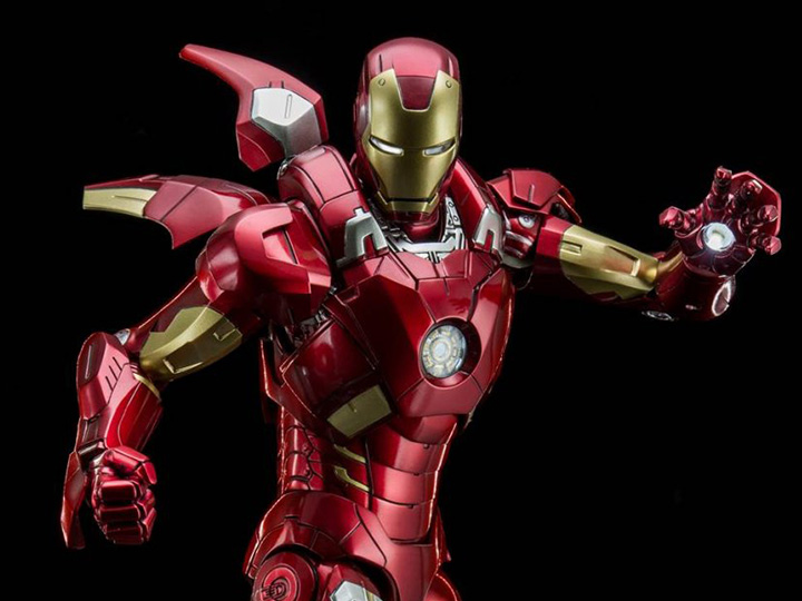 The Avengers 19 Scale Iron Man Mark Vii Die Cast Figure