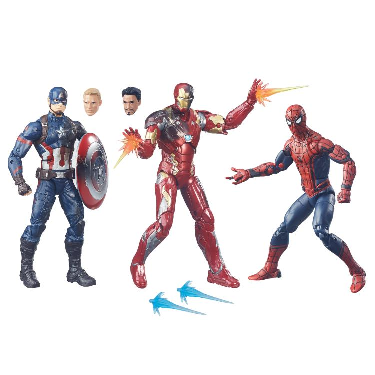 Captain America Civil War Marvel Legends Battle Damaged
