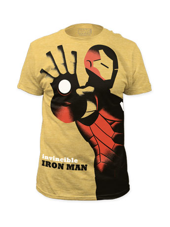 Marvel Invincible Iron Man T-Shirt (Michael Cho)