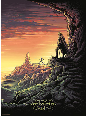 Star Wars It is Time for the Jedi to End Art Print (The Last Jedi)