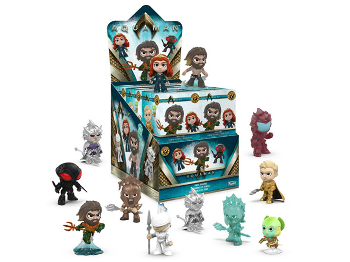 Mini In De Box.Aquaman Mystery Minis Box Of 12 Figures
