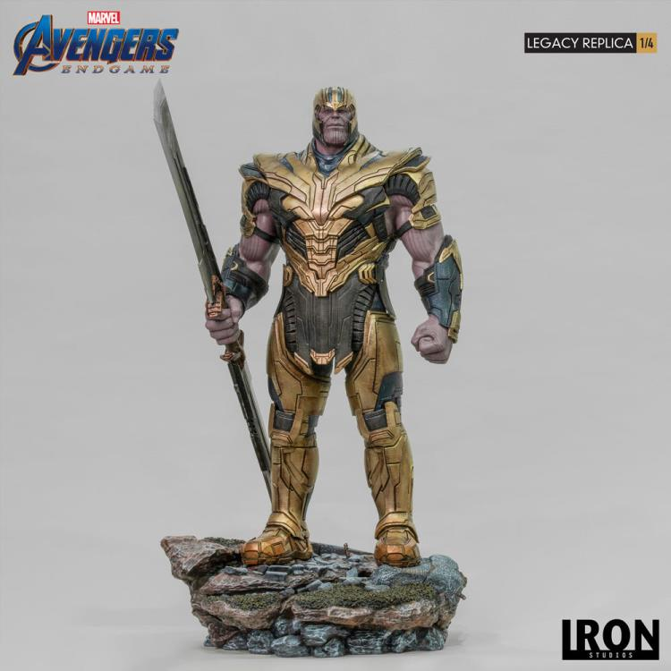 Avengers: Endgame Legacy Replica Thanos 1/4 Scale Limited Edition Statue