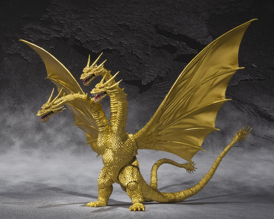 Godzilla S.H.MonsterArts King Ghidorah (Special Color Version)