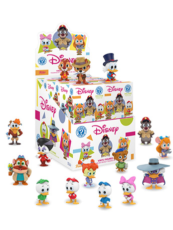 The Disney Afternoon Collection Mystery Minis Box of 12 Figures