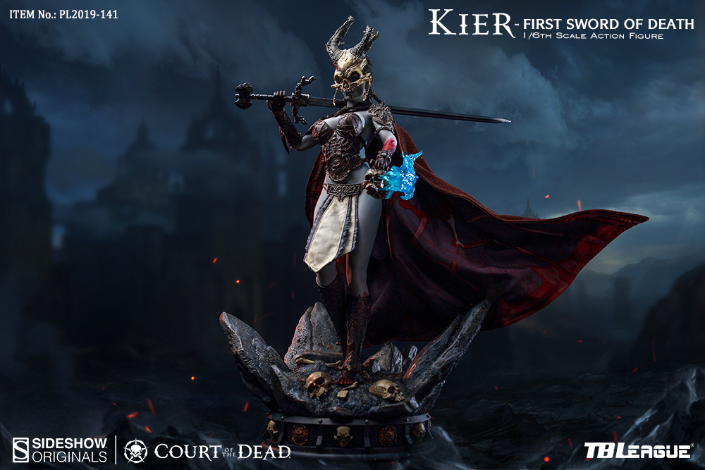 Court of the Dead Kier, First Sword of Death 1/6 Scale Action Figure