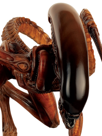 Alien & Predator Figurine Collection Special Edition #10 Mega Runner Xenomorph (Dog Alien)