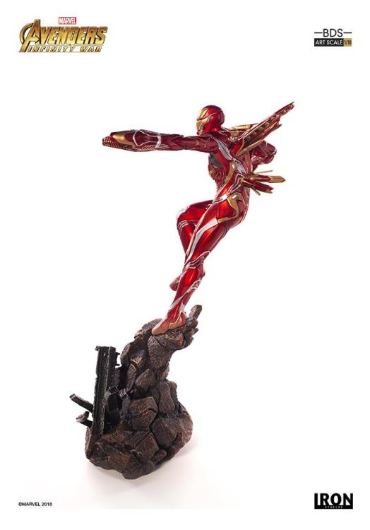 Avengers: Infinity War Battle Diorama Series Iron Man Mark L 1/10 Art Scale Statue