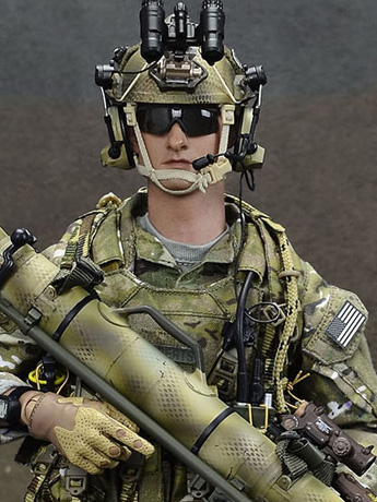 Special Mission Unit Tier-1 Operator Part VII (Camo Color Weapon) 1/6 Scale Figure