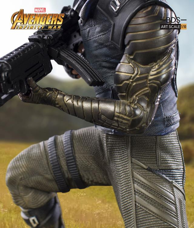 Avengers: Infinity War Battle Diorama Series Winter Soldier 1/10 Art Scale Statue